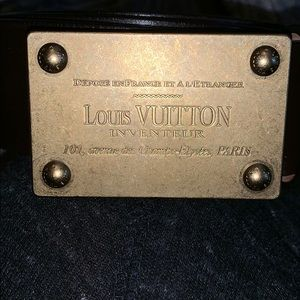 Louis Vuitton original vintage belt